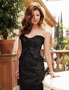 Hot Actresses, Beautiful Actresses, Dana Delany, Strapless Dress Formal, Formal Dresses, Famous Celebrities, Evening Dresses, Female, Goddesses
