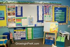 Nicely organized PreK classroom