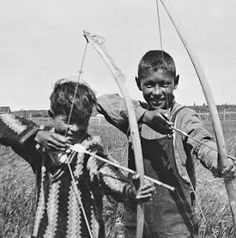 Dene children in La Loche, Saskatchewan in the The Dene Suline language or the Chipewyan language Approximately Native Child, Native American Children, Native American Pictures, Native American Crafts, Native American History, Native American Indians, Trail Of Tears, Native Design, Canadian History