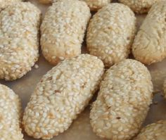Cooking Italian Recipes - Family Cooking and Wine Making  : Sesame Biscotti - Italian Sesame Seed Cookies