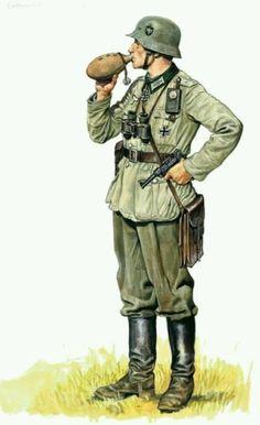 Officer early war