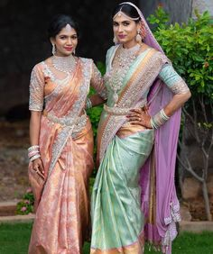 Lots Of Eye Pleasing Details At This Wedding Extraordinaire South Indian Wedding Saree, South Indian Bride, Saree Wedding, Kerala Bride, Telugu Wedding, Hindu Bride, Wedding Album, Wedding Dresses, Indian Bridal Outfits