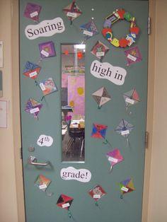 """School Door Decorations for Spring   """"Teacher, Teacher ..."""