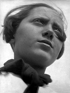 Alexander Rodchenko, Pioneer Girl. 1930, Gelatin-silver print, The Museum of Modern Art, New York.