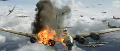 B-17 last moments