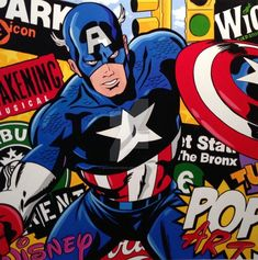 Classic And Modern Pop Art Painting Examples (16)