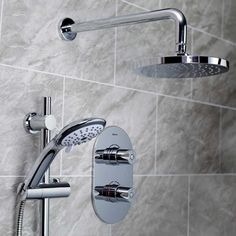 Bristan Artisan Concealed Shower | ARTISAN SHWR PK2 | 2 Outlet | Chrome Shower Rail, Shower Valve, Bristan Taps, Heating And Plumbing, Fixed Shower Head, Mixer Shower, Shower Kits, Media Wall, Color Chrome
