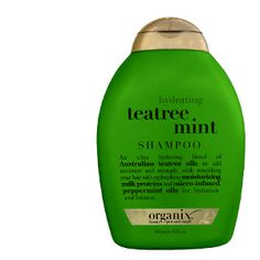 Smells like a thin mint but leaves hair feeling great and does wonders for a dry scalp during those moisture depriving months!