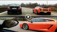Can BMW e60 5M e60 series be a speed car or not? This BMW 5 Series e60 has no competition! The video shows a speed race between a BMW 5 Series M e60 and a Lamborghini Gallardo on the highway. From the beginning, maybe you don`t bet on the bavarian engine, but the BMW 5 [�]