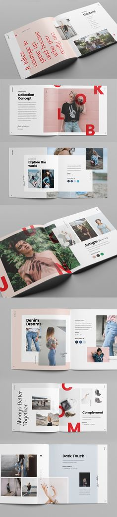 Boldheme is a modern avant-garde fashion lookbook & catalog. You can use it as a portfolio or photo album too. Its style is fresh, rebel, modern and bold, and the overlapping images create a stylish and youthful feeling.It's ideal for clothing campaigns…