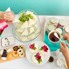Style out the perfect tea party for Mother's Day with yummy flavors of tea, hand-lettered mugs, cheese boards, trays and more. Talk about a gorgeous get-together!