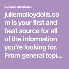 juliemolloydolls.com is your first and best source for all of the information you're looking for. From general topics to more of what you would expect to find here, juliemolloydolls.com has it all. We hope you find what you are searching for! Natural Homes, Natural Home Decor, Bjj Memes, Diy Toddler Bed, Bee Nursery, Diy Furniture Hacks, Love Spell That Work, Money Spells, Successful Relationships