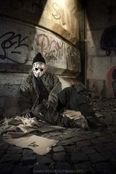 Jason Voorhees Federico Chiesa: Photographer and creative director Carolina Trotta: Makeup artist and special fx, styling