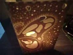 luminaria de pvc com velas  fortaleza,ce (facebook: jose de vasconcelos)