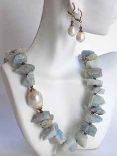 Hey, I found this really awesome Etsy listing at https://www.etsy.com/listing/450333732/large-bead-necklace-and-earrings-for