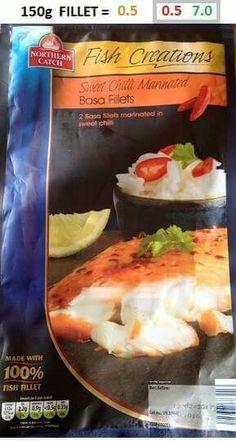 Aldi sweet chilli basa fish