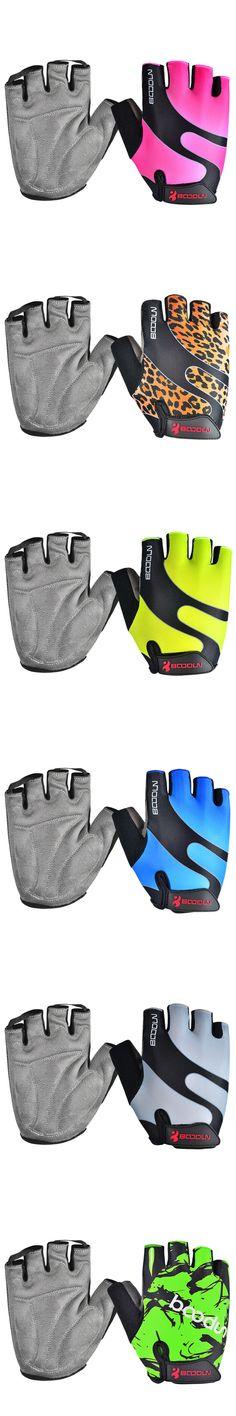 Brand Summer Men Women Cycling Gloves Half Finger Skate Gym Ftiness Airsoft Sport MTB Bike Bicycle Gloves for Kids Boys Girls
