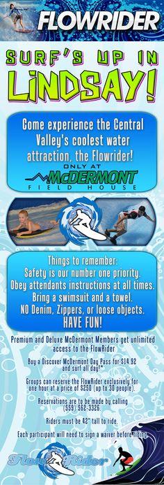 mcdermontfieldhouse.com: Flowrider