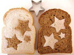 Verrassing in de brooddoos, en je leert hen bruin brood eten!