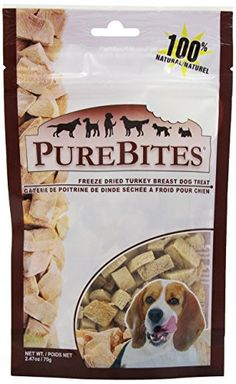 52% Off was $10.49, now is $4.99! PureBites Turkey Dog Treats, 2.47-Ounce
