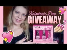 OPI GIVEAWAY on my YouTube channel!