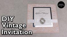 Vintage lace Wedding Invitation | DIY Wedding Invitations, Eternal Stati...