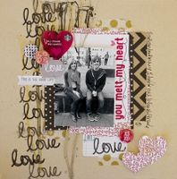 A Project by Leslie Ashe from our Scrapbooking Gallery originally submitted 01/20/14 at 12:13 PM
