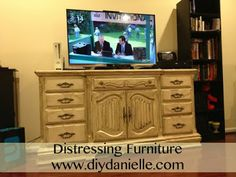 How to distress a Bureau