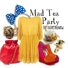 """Mad Tea Party"" by lalakay on Polyvore"
