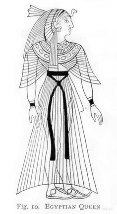 Egyptian-Queen. http://world4.eu/ancient-egyptian-costumes/