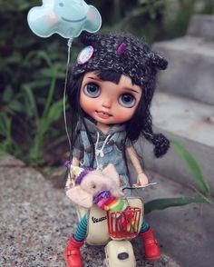 #blythe #rbl#checkitout #customblythe #dolls #wanwan #wanwandoll