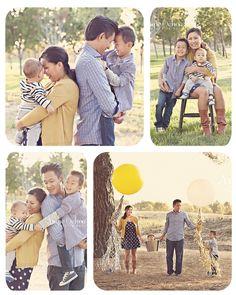 Family of Four Photo Session - San Ramon, CA Family Photographer