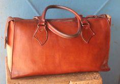 Geniune Leather Mini Travel Bag by AdinkraExpo on Etsy. leather purse