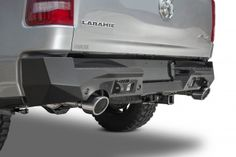 2019 - 2020 RAM 1500 Stealth Fighter Rear Bumper with 6 Backup Sensors: Addictive Desert Designs - ADD Offroad Dodge Ram 1500, 2019 Ram 1500, Aftermarket Truck Parts, Bumper Weights, Ram Rebel, Desert Design, New Trucks, W 6, Ramen