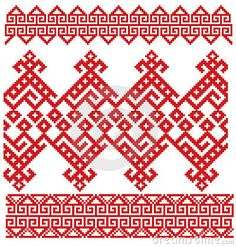 Russian Embroidery Folk Royalty Free Stock Photos - Image: 12740248