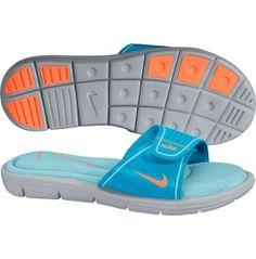 cbd495a9c4afc3 Nike Women s Comfort Slide blue