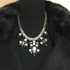 FREE W/100$ purchase!Black/silver-pendent necklace FREE W/100$ PURCHASE!! Lightweight necklace with delicate designs. gift box included! DO NOT BUY THIS LISTING..I WILL CREATE A SEPARATE ONE FOR YOU.. T&J Designs Jewelry Necklaces