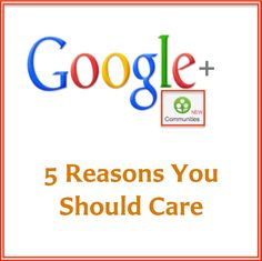 http://www.JenniferHerndon.com Google+ Communities: 5 Reasons You Should Care