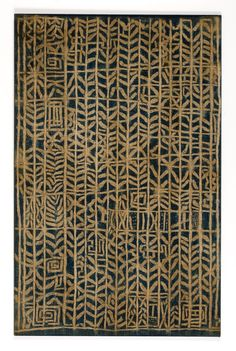 Ndop Royal Hanging for Ceremonial and Funerary Occasions. Bamum or Bamileke people, Cameroon | First half 20th century