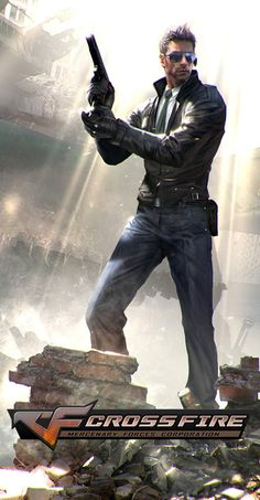 this piece of artwork was made for promotion poster of Crossfire, very famous online FPS game in Asia Character Poses, Game Character, Character Concept, Crossfire, Boss Wallpaper, Fantasy Wizard, Legend Games, Hyun Suk, Battle Royale Game