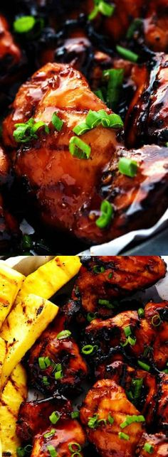 This Grilled Huli Huli Chicken from The Recipe Critic is one of our favorite recipes! The marinade is so quick and easy to make — and the flavor will really blow you awa Pollo Tropical, Grilling Recipes, Cooking Recipes, Huli Huli Chicken, Island Food, Grilled Chicken Recipes, Savoury Dishes, Savoury Recipes, Asian Recipes