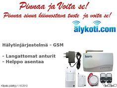 Pinnaa sinua kiinnostava tuote ja Voita!  Tuotteet löydät taulultamme (http://pinterest.com/alykoti/pinnaa-ja-voita/) tai osoitteesta www.älykoti.com