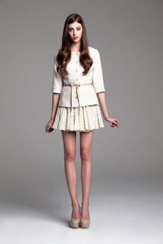 Every-thing!!!! paper crown windsor jacket + wimbledone skirt