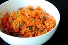 Moroccan Carrot Salad with Cumin and Iranian Raisins