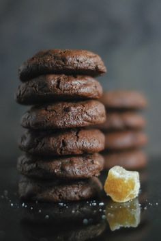 Chunky Chocolate Ginger Snaps