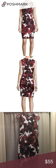 Calvin Klein floral dress sz. 6 NWOT never worn, beautiful Calvin floral dress, no defects sz. 6! Calvin Klein Dresses