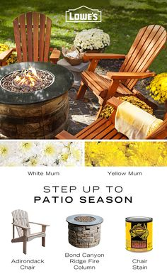 Take advantage of the cooler weather to come and deck out your deck with outdoor accessories from Lowes.com!