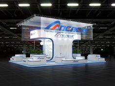 Выставочные стенды Exhibition stands 2015-2016 on Behance