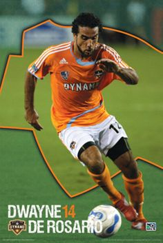 when he use to play for us. Houston Dynamo- Dwayne De Rosario