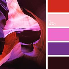 color palette - nature's beauty hues